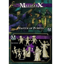Wyrd miniatures WYR20409 Neverborn: Master of Puppets (Collodi Crew)