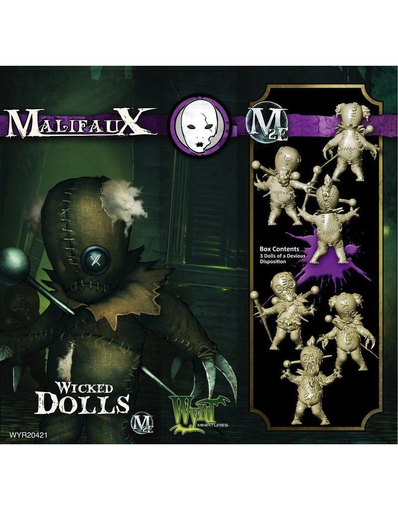 Wyrd miniatures WYR20421 Neverborn: Wicked Dolls (3)
