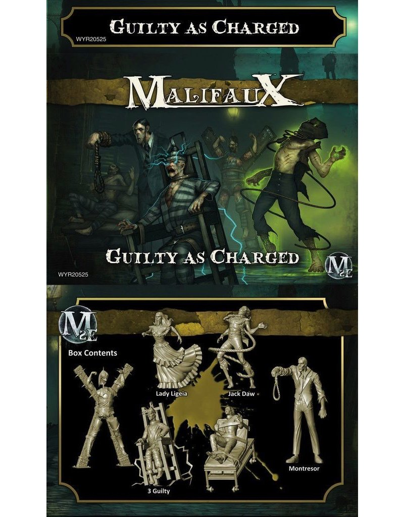 Wyrd miniatures WYR20525 Outcasts: Guilty as Charged (Jack Daw Crew)