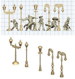Wyrd miniatures WYR09001 Accessories: Lamps