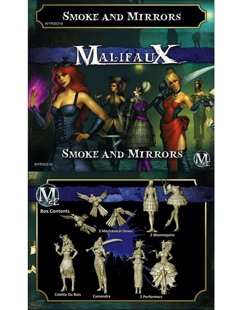 Wyrd miniatures WYR20318 Arcanists: Smoke and Mirrors (Colette Crew)