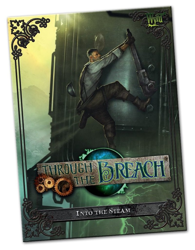 Wyrd miniatures WYR30104 Through the Breach RPG: Into the Steam
