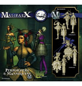 Wyrd miniatures WYR20325 Arcanists: Performers & Mannequins