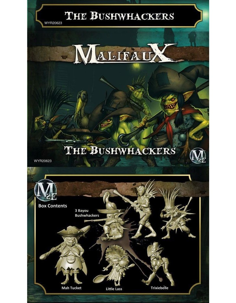 Wyrd miniatures WYR20623 Gremlins: The Bushwhackers (Mah Tucket Crew)