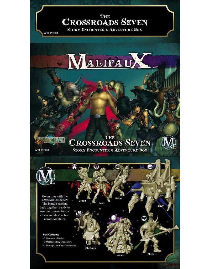 Wyrd miniatures WYR20904 Crossroads 7 Story Encounter and Adventure Box