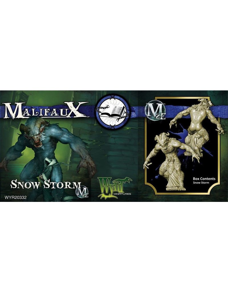 Wyrd miniatures WYR20332 Arcanists: Snow Storm