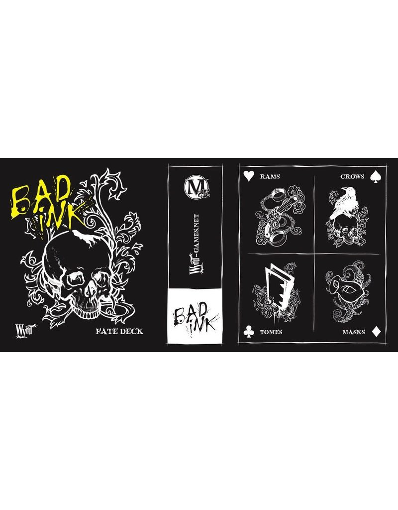 Wyrd miniatures WYR20033 Bad Ink Fate Deck