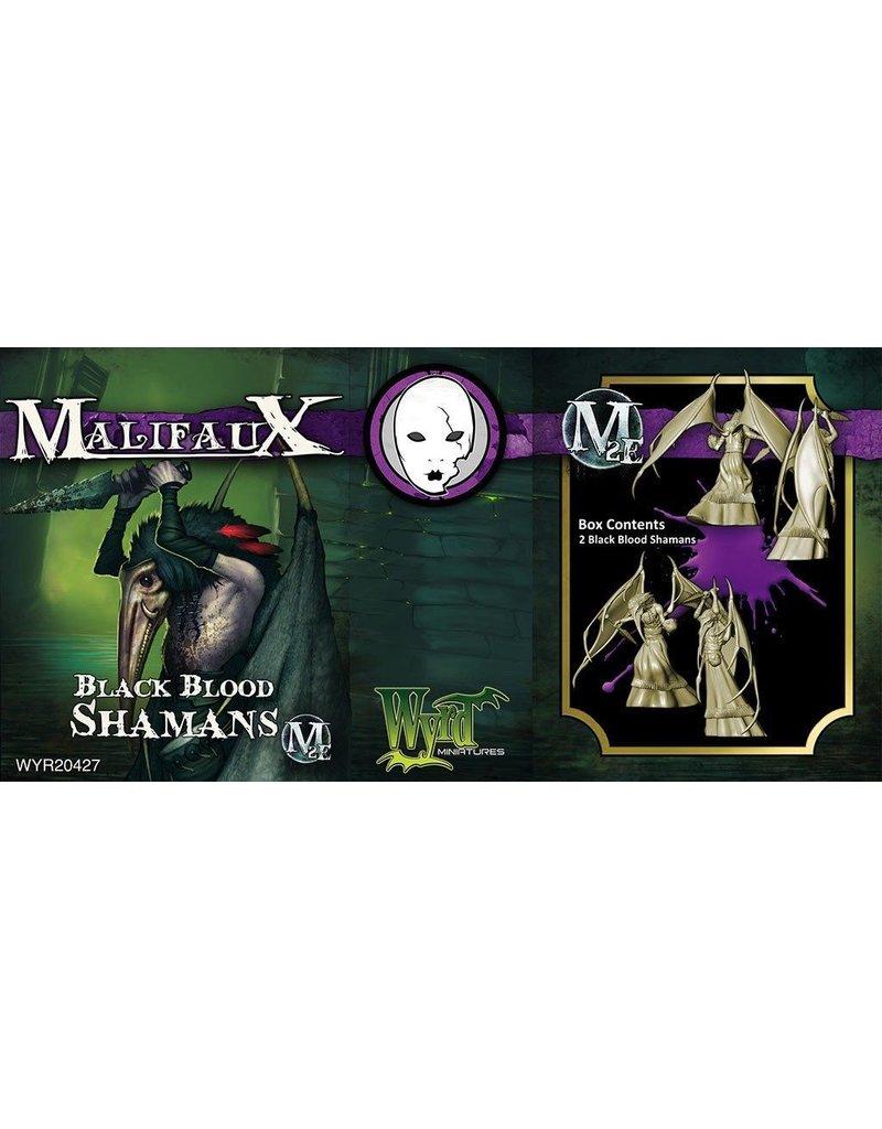 Wyrd miniatures WYR20427 Neverborn: Black Blood Shamans (2)