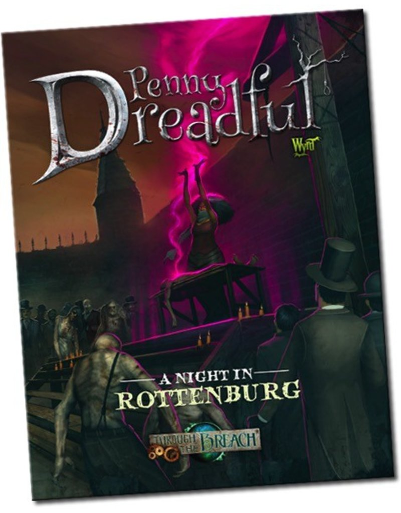 Wyrd miniatures WYR30203 Through the Breach RPG: A Night in Rottenburg