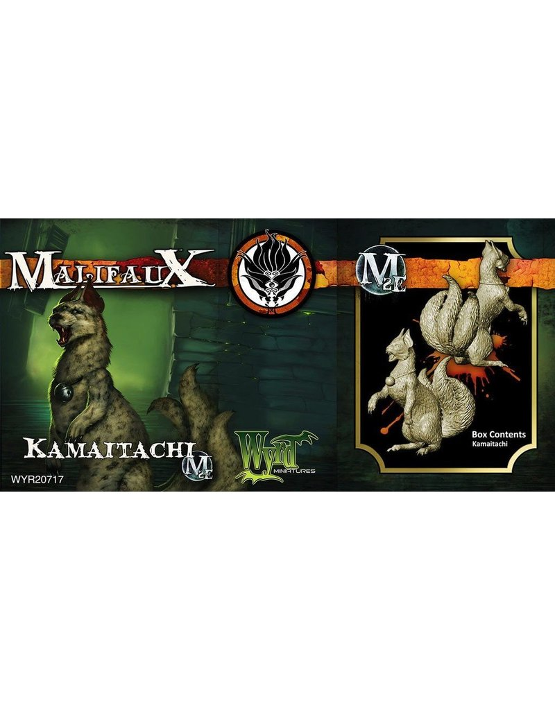 Wyrd miniatures WYR20717 Ten Thunders: Kamaitachi