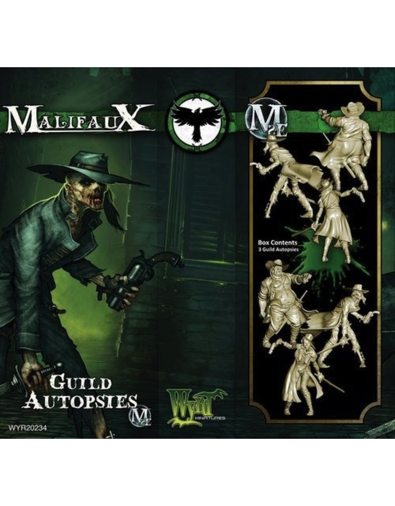 Wyrd miniatures WYR20234 Resurrectionists: Guild Autopsies (3)