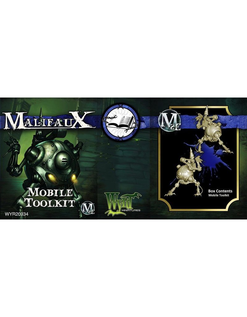 Wyrd miniatures WYR20334 Arcanists: Mobile Toolkit