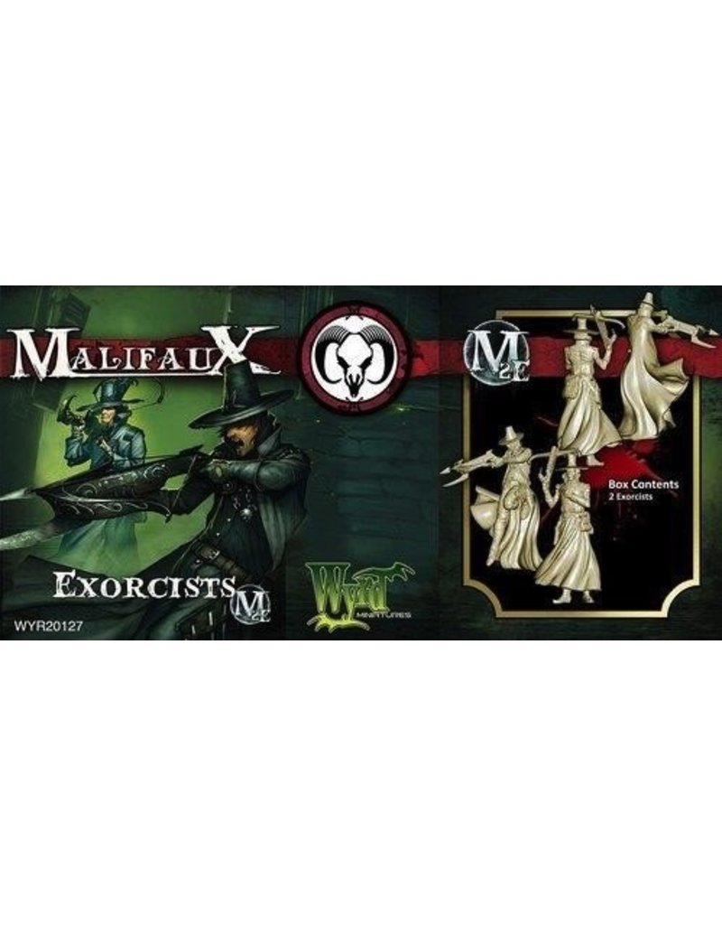 Wyrd miniatures WYR20127 Guild: Exorcists (2)