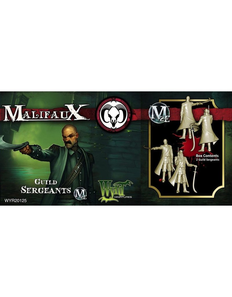 Wyrd miniatures WYR20125 Guild: Sergeants (2)