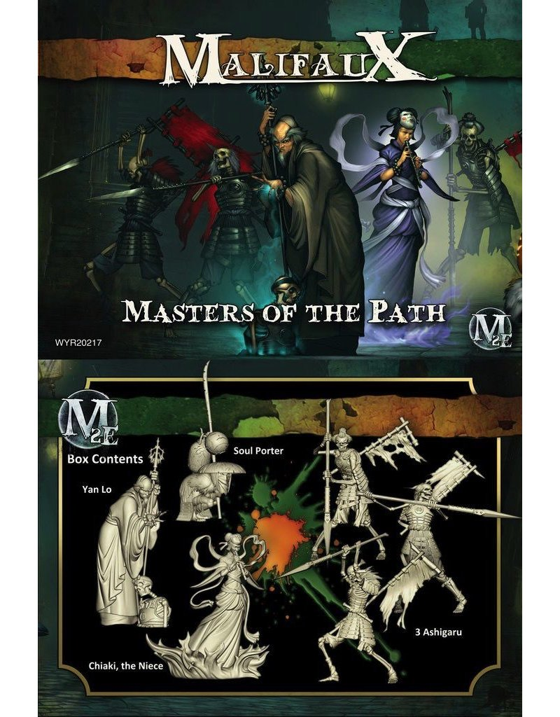 Wyrd miniatures WYR20217 Resurectionists Masters of the Path (Yan Lo Crew)