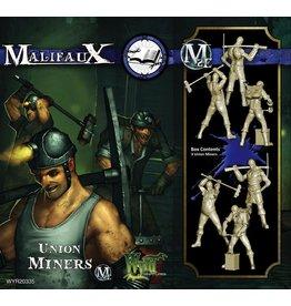 Wyrd miniatures WYR20335 Arcanists: Union Miners (3)