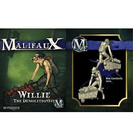 Wyrd miniatures WYR20319 Arcanists: Willie, the Demolitionist