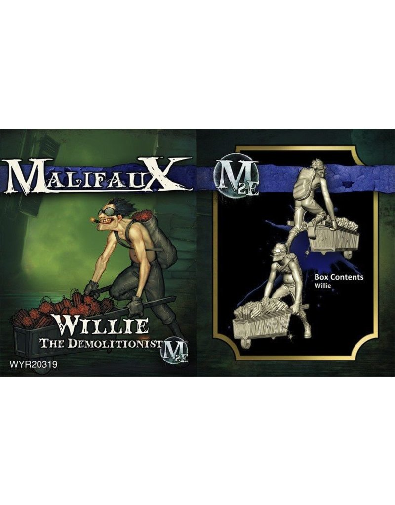 Wyrd miniatures WYR20319 Arcanists: Willie, the Demolitionist