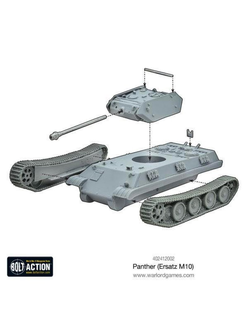 Bolt Action BA German Army: Panther (Ersatz M10)