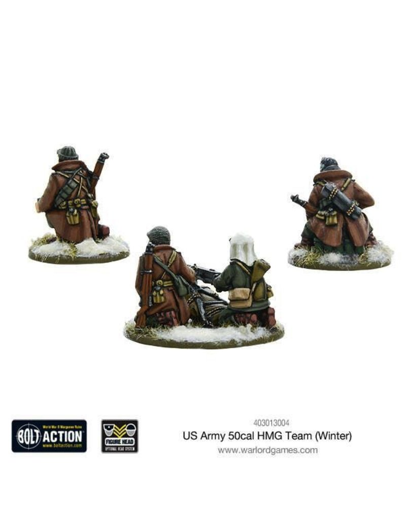 Bolt Action BA American Army: US Army 50cal HMG Team (Winter)