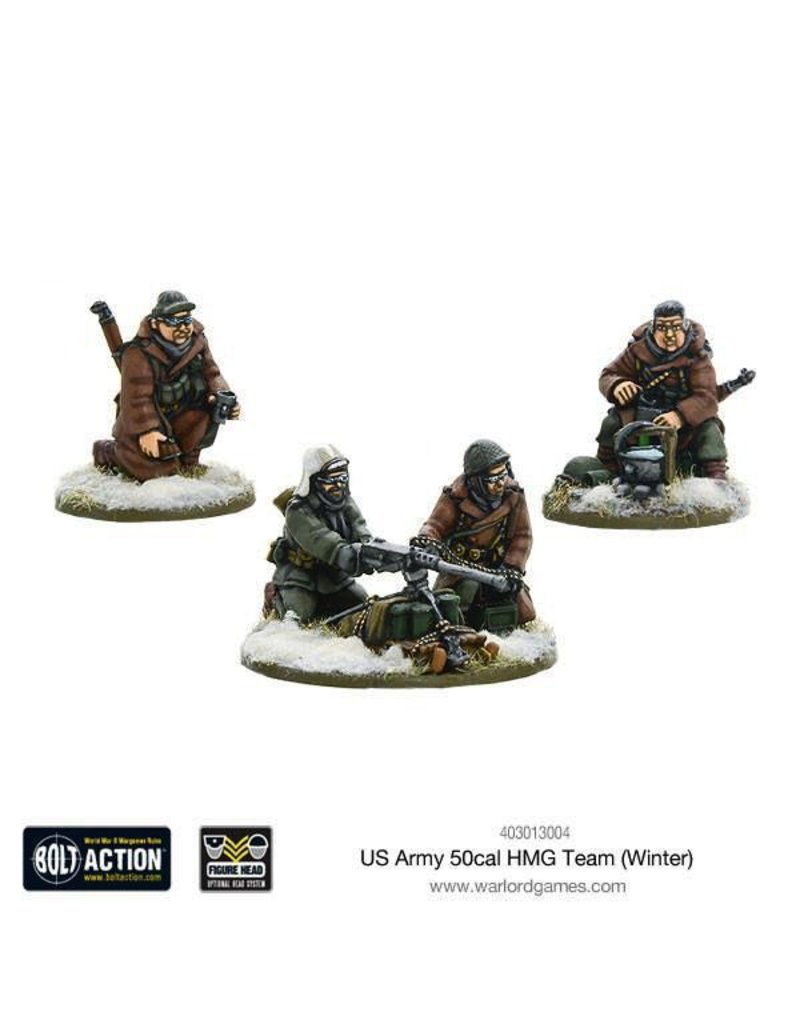 Bolt Action BA American Army: US Army 50cal HMG Team (Winter)