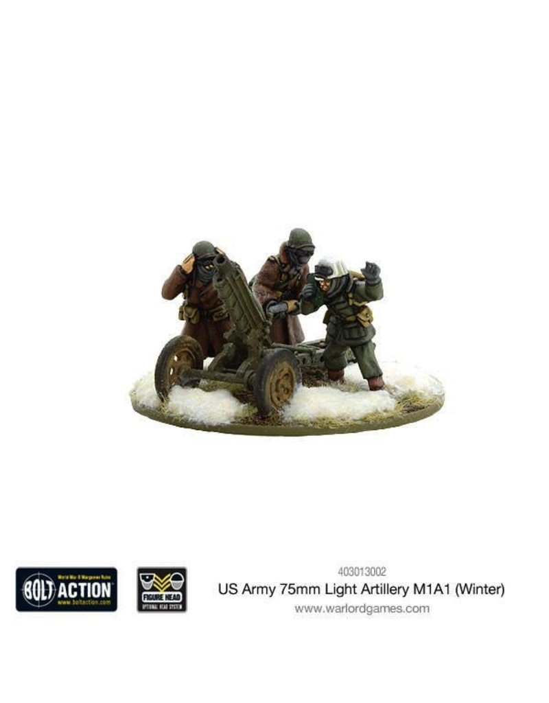 Bolt Action BA American Army: US Army 75mm Light Artillery M1A1 (Winter)