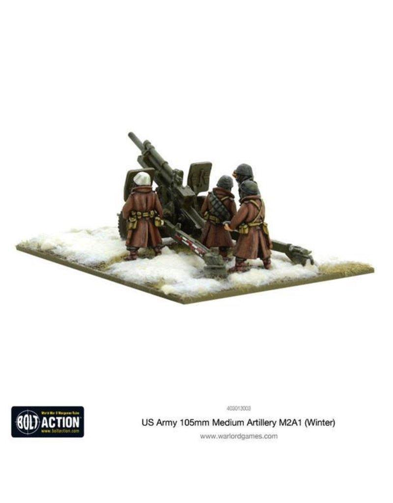 Bolt Action BA American Army: US Army 105mm Medium Artillery M2A1 (Winter)