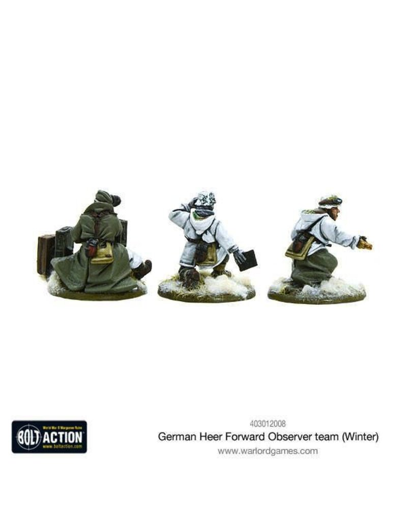Bolt Action BA German Army: German Heer Forward Observer team (Winter)