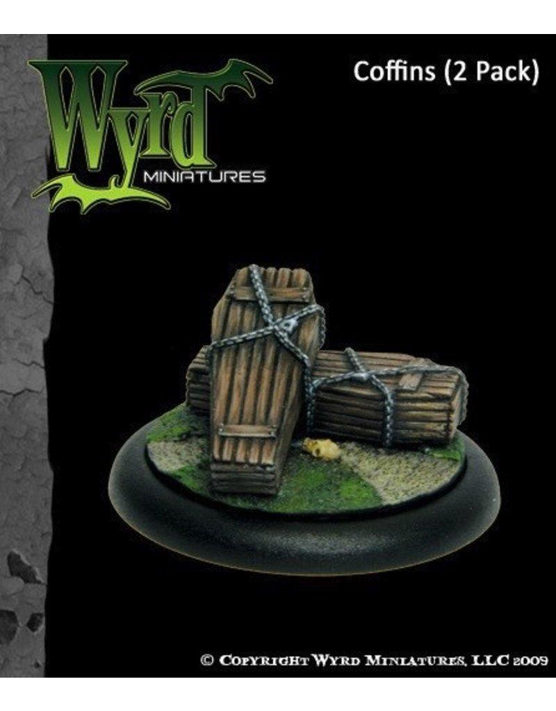 Wyrd miniatures WYR0012 Accessories Coffins