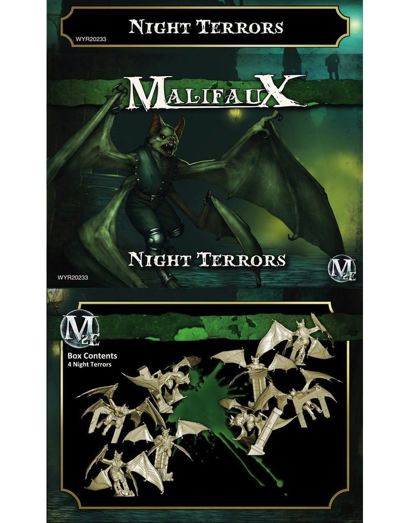 Wyrd miniatures WYR20233 Resurrectionists: Night Terrors (4)
