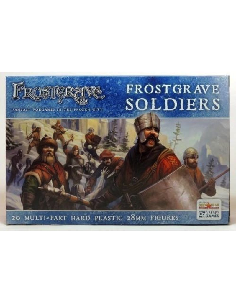 Northstar Miniatures Northstar Miniatures: Frostgrave - Soldiers