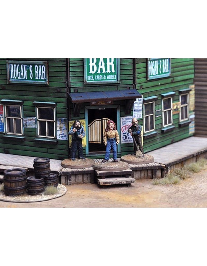Great Escape Games DIRECT Dead Man's Hand Rogan's Bar Set