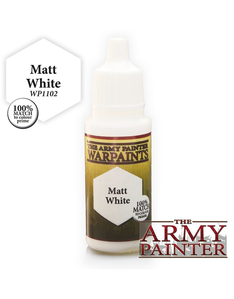 Army Painter WP1102 Army Painter: Warpaints Matt White 18ml