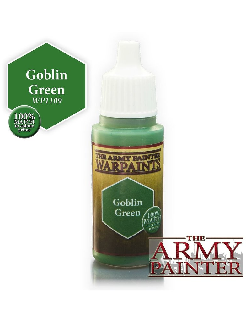 Army Painter WP1109 Army Painter: Warpaints Goblin Green 18ml