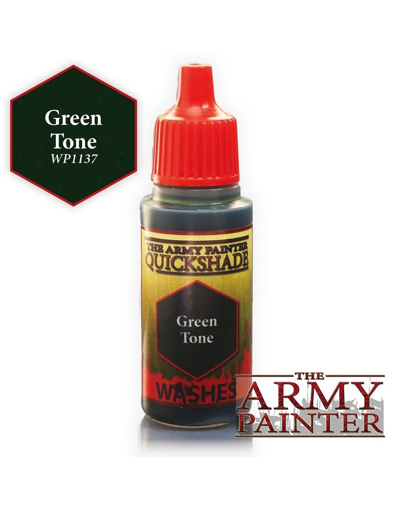 Army Painter WP1137 Army Painter: Warpaints Green Tone Ink 18ml