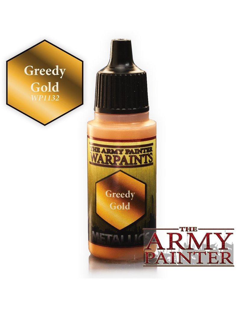 Army Painter WP1132 Army Painter: Warpaints Greedy Gold 18ml