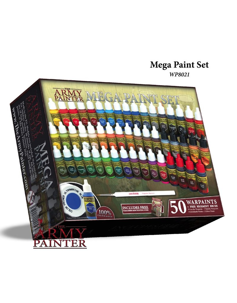 Army Painter WP8021 Army Painter Mega Paint Set 2017<br /> MSRP: $125.00