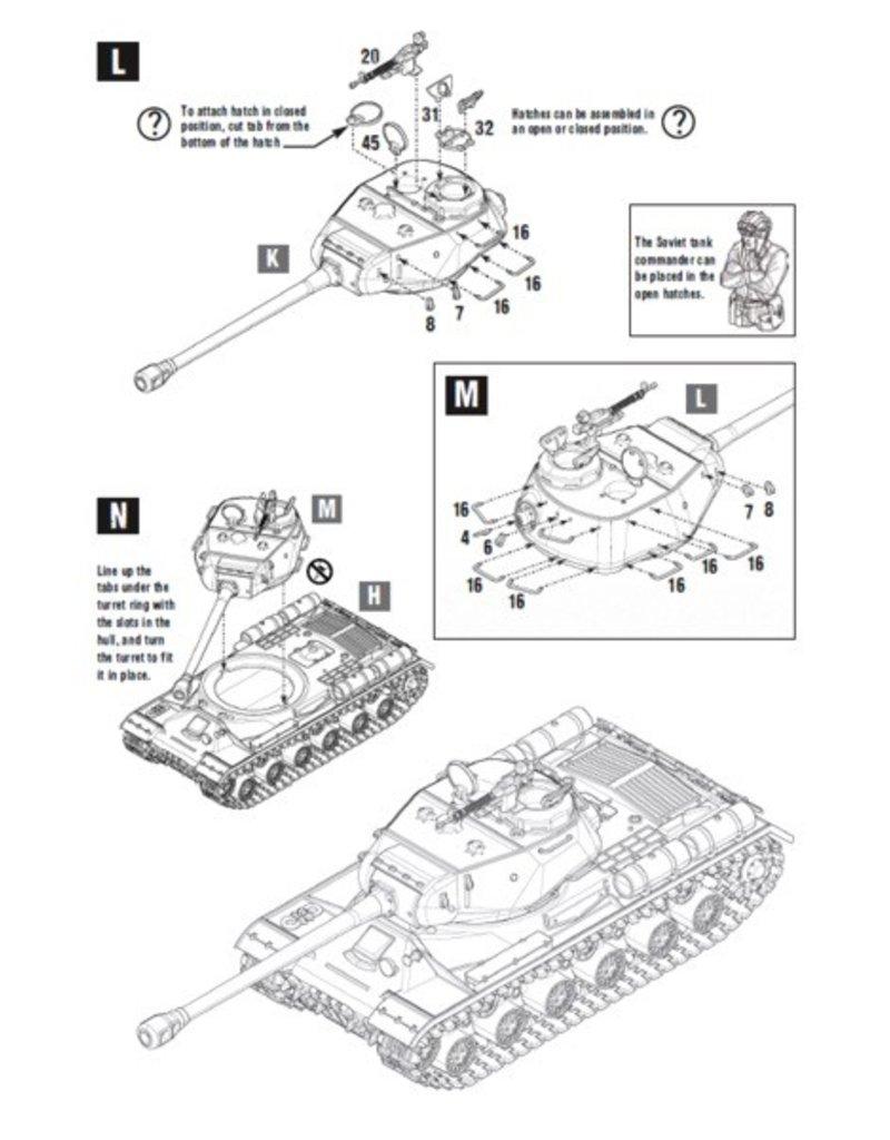 Bolt Action BA Soviet Army: IS-2 Heavy Tank