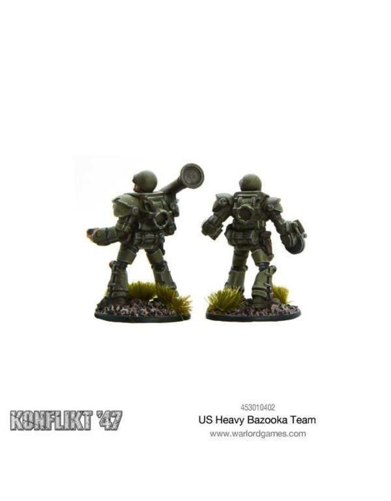 Bolt Action US Heavy Bazooka Team