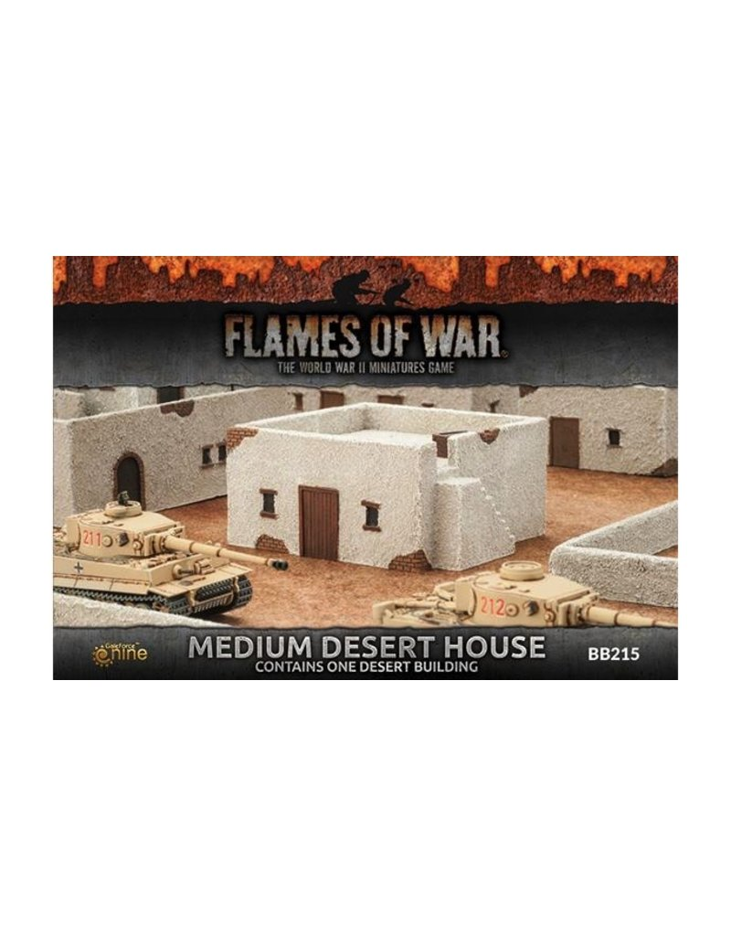 Flames of War BB215 Medium Desert House