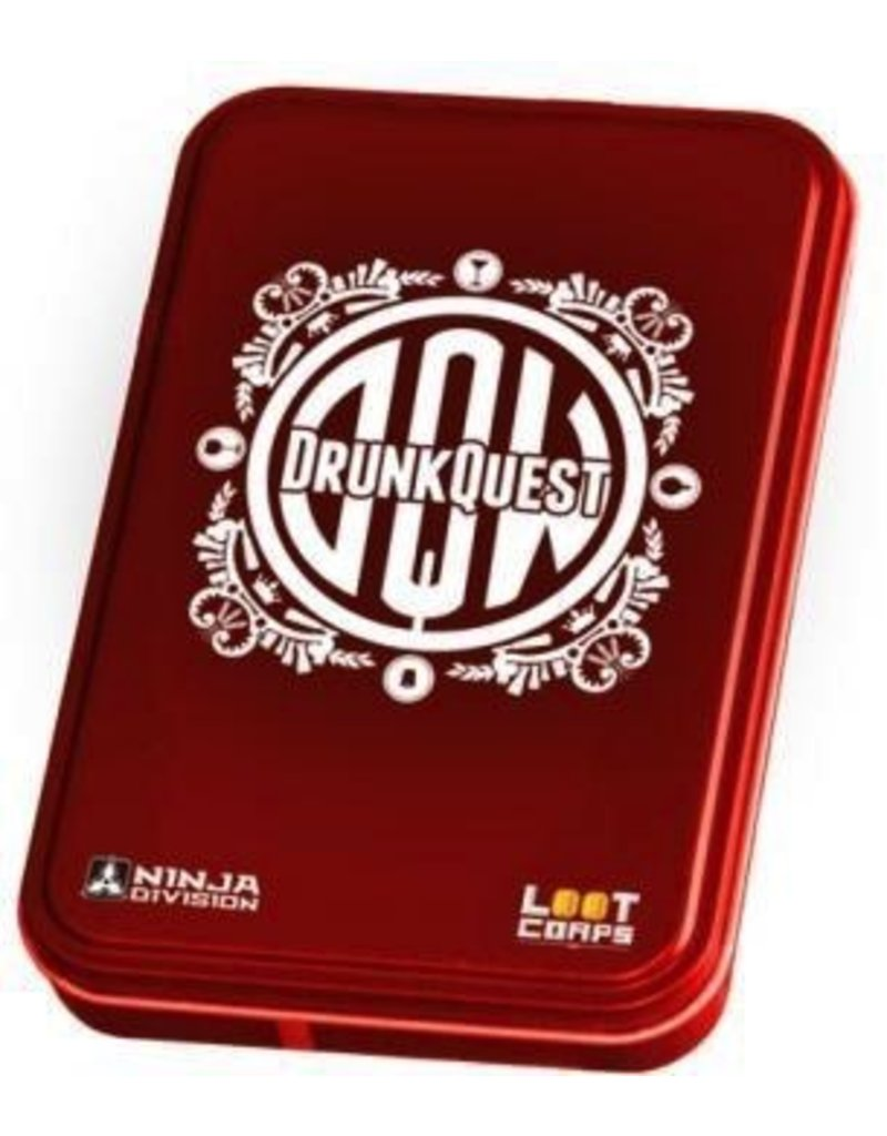 Ninja Division Publishing DrunkQuest Tin Box Edition