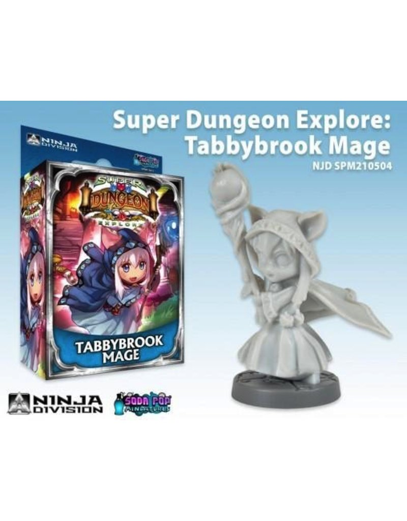 Soda Pop Miniatures Super Dungeon Explore: Tabbybrook Mage