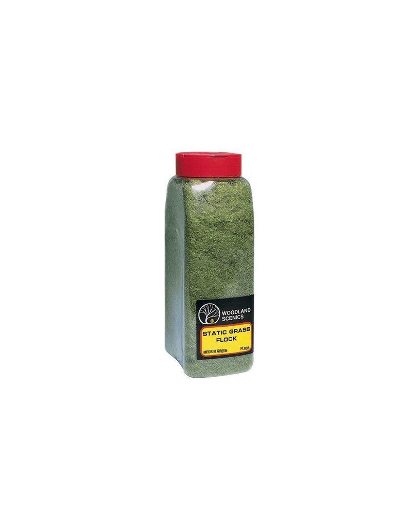 Woodland Scenics Shaker Static Grass Med Green