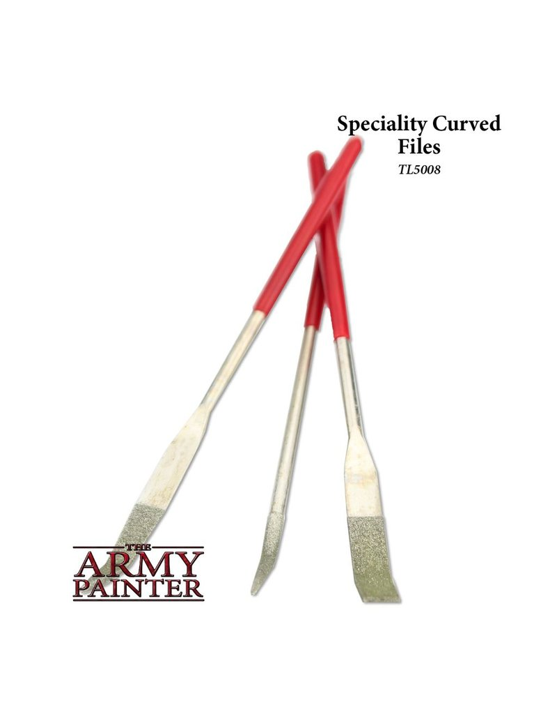 Army Painter TL5008 Tool Curved Files