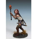 Dark Sword Miniatures DTM Raven Switchsword - Female Rogue