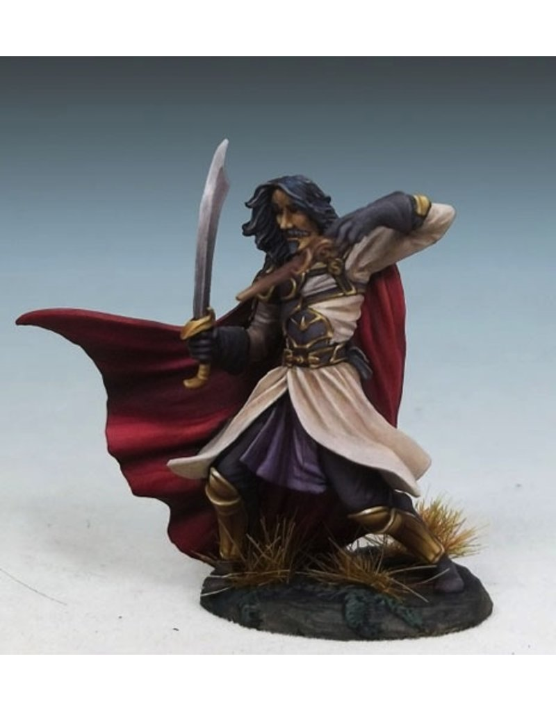 Dark Sword Miniatures VIF Male Battle Mage