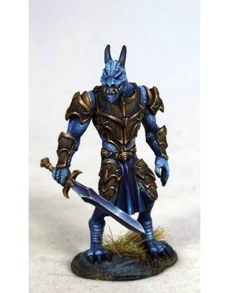 Dark Sword Miniatures VIF Male Dragonkin Warrior