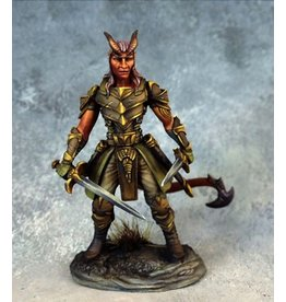 Dark Sword Miniatures VIF Male Demonkin Rogue