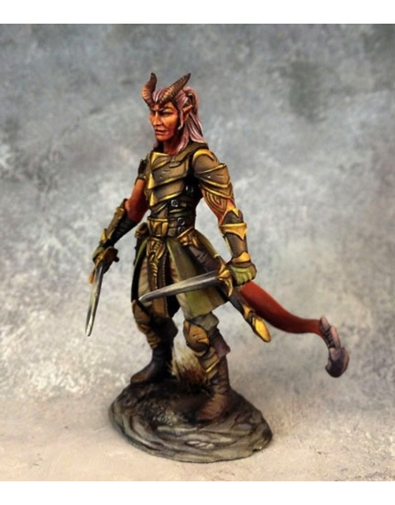 Dark Sword Miniatures VIF Male Demonkin Rogue