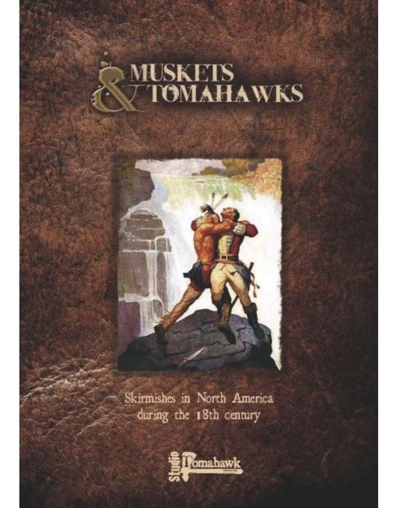 Gripping Beast DIRECT Muskets & Tomahawks: Core Rulebook and Cards